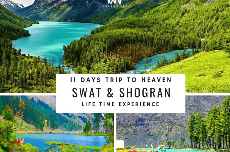 11 Days Tour to Swat, Kalaam, Malam Jabba & Shogran